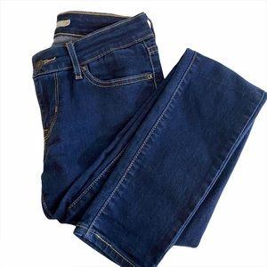 Levi's 711 skinny jeans | size 26 | dark wash